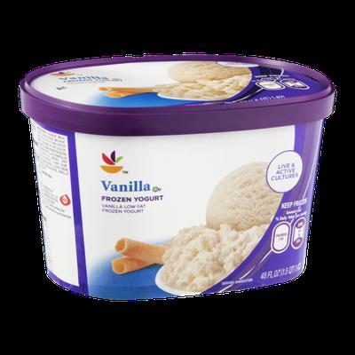 Ahold Frozen Yogurt Vanilla