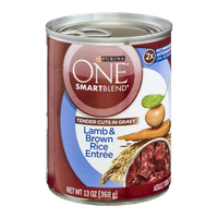 Purina One Smartblend Tender Cuts In Gravy Lamb & Brown Rice Entree