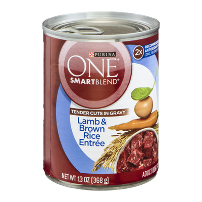 PURINA ONE® Smartblend Tender Cuts In Gravy Lamb & Brown Rice Entree