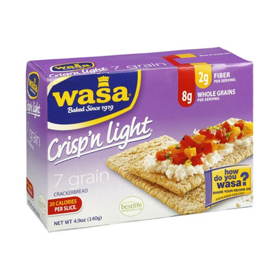 Wasa Crisp'n Light 7 Grain Crackerbread