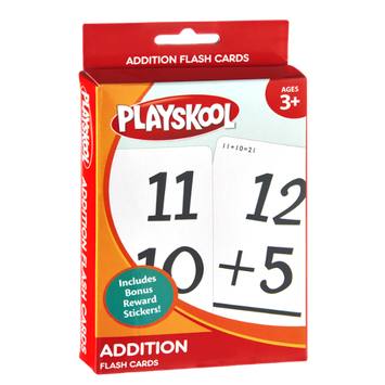 Playskool Addition Flash Cards