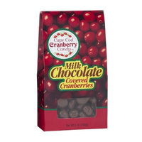 Cape Cod Cranberry Candy Milk Chocolate Covered Cranberries, 5-Ounce (Pack of 6)