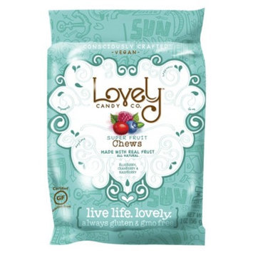 2 oz Lovely Candy Company Fruit Chewy Candy