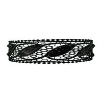 Smoothies Eyelet Sequins Headband-Black 01294
