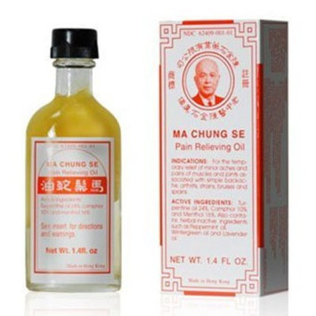 Ma Chung Se Pain Relieving Oil - 1.4 Oz Bottle