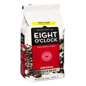 Eight O'Clock Original Whole Bean Coffee