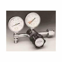 Victor VMG-15LN 2-15 LPM CGA 540 Nut And Stem Diaphragm Style Pediatric Flowgauge Medical Regulator With 2'' Gauges
