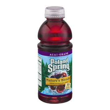 Poland Spring Nature's Blends Spring Water & Real Juice Acai-Grape