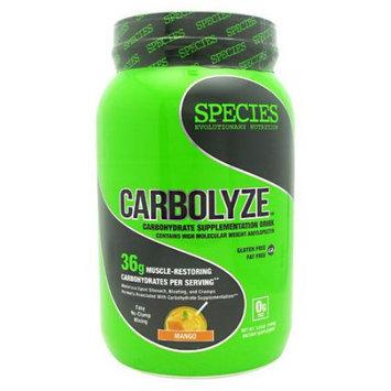 Species Nutrition Carbolyze Mango - 40 Servings
