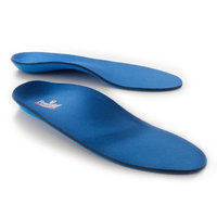Powerstep Pinnacle Adult's Insole Blue Women's 9-9.5 / Men's 7-7.5