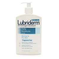 Lubriderm Daily Moisture Fragrance Free Lotion