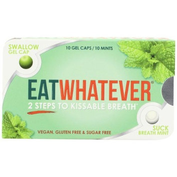 Eatwhatever Peppermint Flavor Breath Freshener, 9-Count Packages