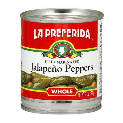 La Preferida Hot Marinated Whole Jalapeno Peppers