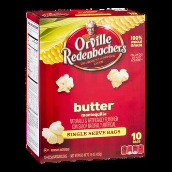 Orville Redenbacher's Gourmet Popping Corn Naturals Butter Single Serve Bags