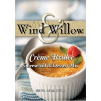 Wind & Willow Wind and Willow Creme Brulee Cheeseball & Dessert Mix - 4.5 Ounce (4 Pack)