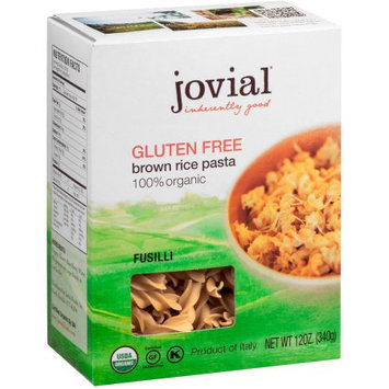 Jovial Fusilli, Brown Rice, 12 Ounce (Pack of 6)