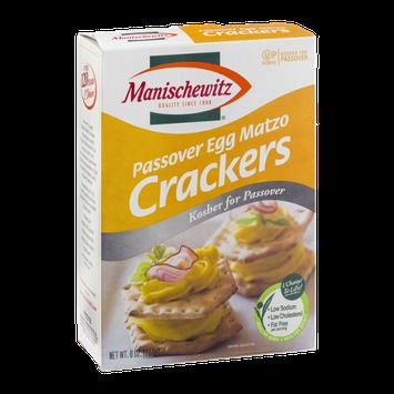 Manischewitz Passover Egg Matzo Crackers
