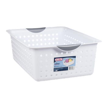 Sterilite Ultra Basket Large White