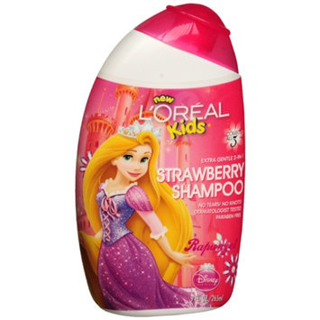 L'Oréal Paris Kids Extra Gentle 2-in-1 Shampoo, Rapunzel Strawberry
