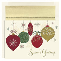 Hortense B. Hewitt Christmas Ornaments Boxed Cards - 16 Count
