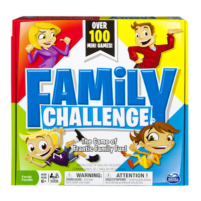 Spin Master Beat The Parents Family Challenge Board Game