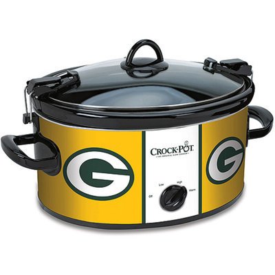 Crock-Pot NFL 6-Quart Slow Cooker, Green Bay Packers