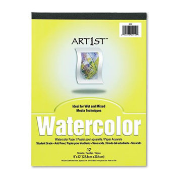 Pacon Artist Watercolor Paper Pad, White