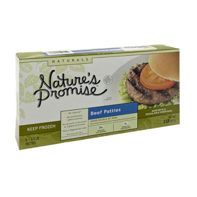 Nature's Promise Naturals Beef Patties