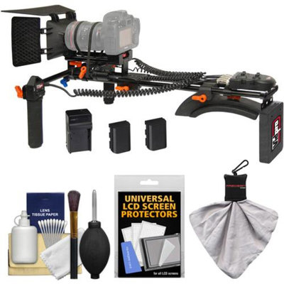 Vidpro MR-400 Motorized Focus & Zoom Shoulder Rig for Digital SLR Cameras with Accessory Kit