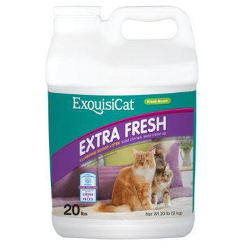 ExquisiCatA Extra Fresh Clumping Scoop Cat Litter