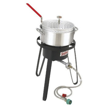 Barbour International Bayou Classic Sportsman's Choice Fish Boiler/Fryer - Silver