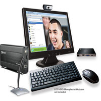 Kaser Black Net'sPC3 YF820-8G Desktop PC with ARM Dual-Core Processor, 1GB Memory, 8GB Hard Drive and Android 4.2 (Jelly Bean) Operating System (Monitor Not Included)
