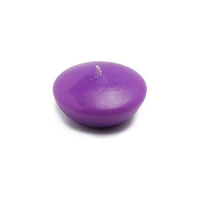 Zest Candle CFZ-062 3 in. Purple Floating Candles -12pc-Box