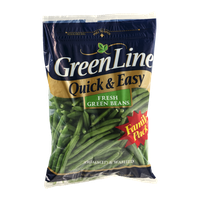 GreenLine Quick & Easy Family Pack Fresh Green Beans Trimmed & Washed