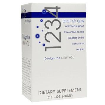 Diet Drops 1234 Diet Drops Dietary Supplement Liquid