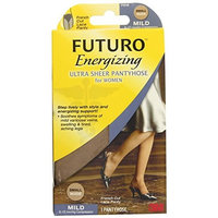 Futuro Ultra Sheer Pantyhose for women, French Cut, Nude, Small, Mild (8-15mm/Hg)