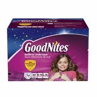 Goodnites Youth Pants Girls L\XL, 30 ea