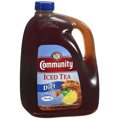 Community: Diet Iced Tea, 128 Oz