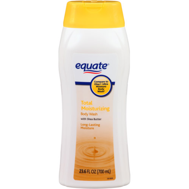 Equate Beauty Equate Total Moisturizing Body Wash with Shea Butter, 23.6 fl oz