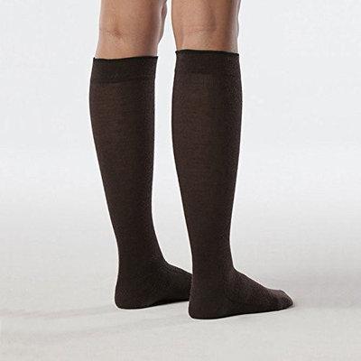 Sigvaris All Season Wool 242CLLW99 20-30mm. Hg Large Long Women Calf Black