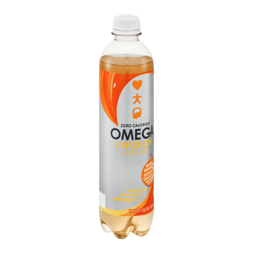 Omega Infusion Enhanced Water Orange