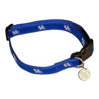 Sporty K9 Kentucky Wildcats Dog Collar