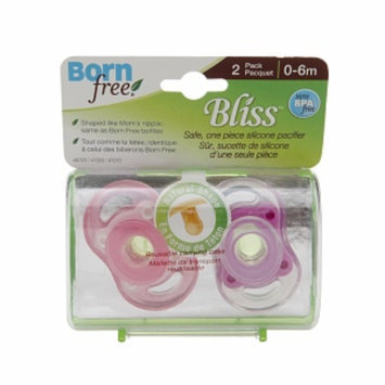 BornFree Bliss Button, Pink, 2 ea
