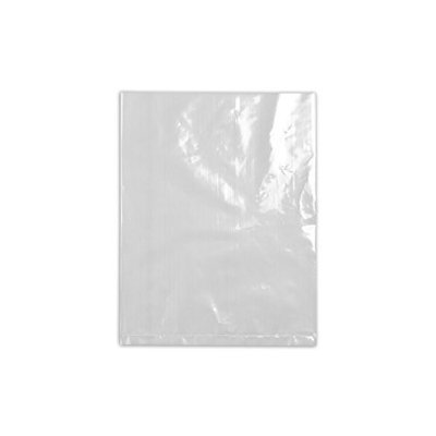 Value Brand 15F1618 Lay Flat Poly Bag, LDPE, 18InL, 16InW, PK500