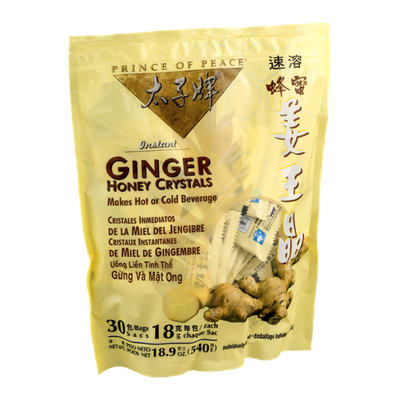 Prince of Peace Ginger Honey Crystals - 30 CT