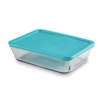Anchor Hocking Inc 6-Cup Rectangular Glass Storage Container & Lid