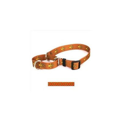 Yellow Dog Design M-CLO100XS Cleo Orange Martingale Collar - Extra Small