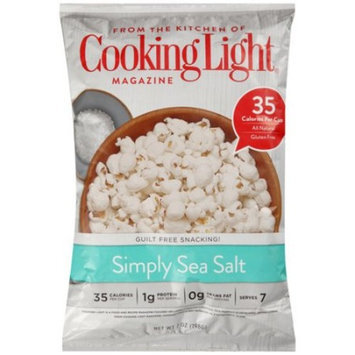 Cookies Cooking Light Simply Sea Salt Popcorn, 7 oz