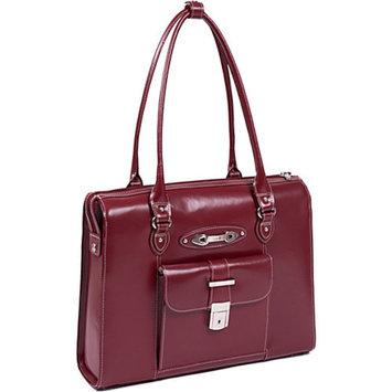 McKlein USA River Forest - Ladies Leather Laptop Briefcase