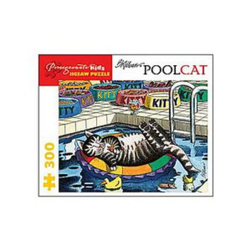 Pomegranate Communications Pool Cat Puzzle: 300 pc Ages 8 and up, 1 ea